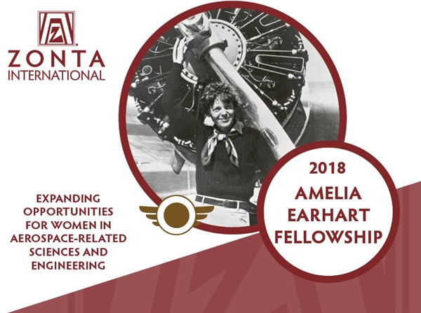 Amelia Earhart $10,000 fellowship due November 15